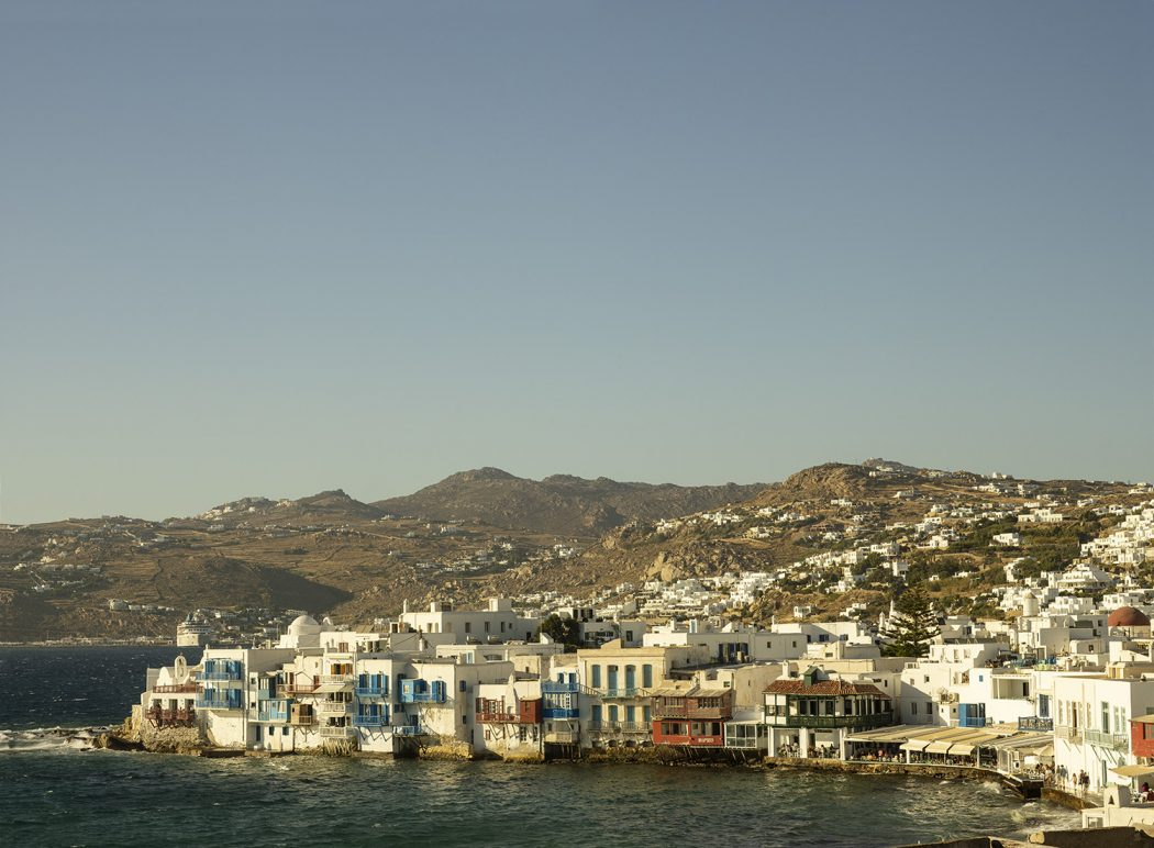image capturing the beauty of Mykonos